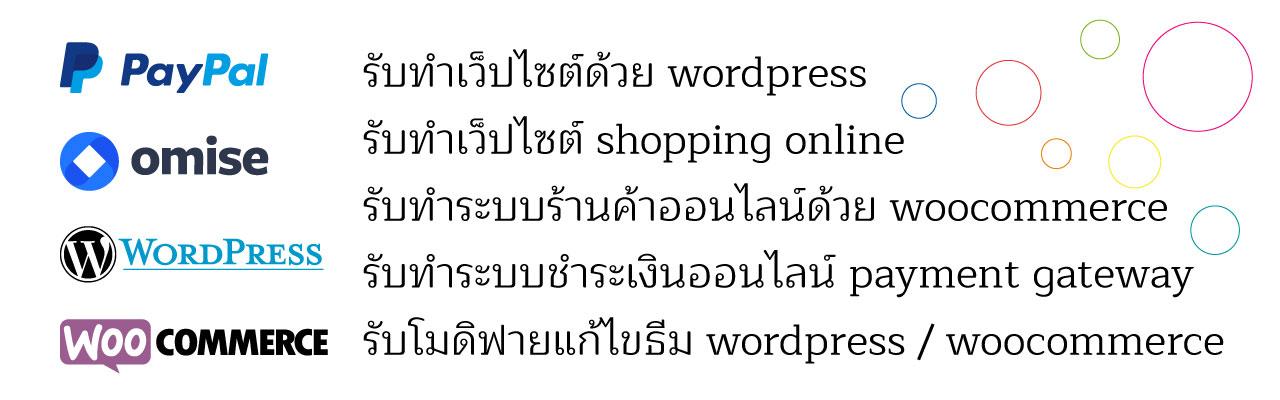 รับ ทำ เว็บไซต์ wordpress
